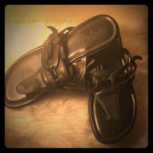 Authentic Cole Haan Black 7.5 Sandals Nike Air